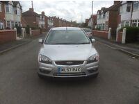 2007 Ford Focus 1.6 Titanium 5dr hatchback petrol manual low mileage full service history £1650