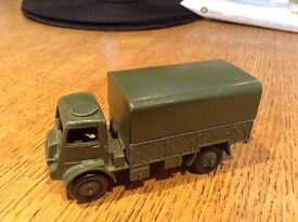 Dinky toys Bedford army truck number 623