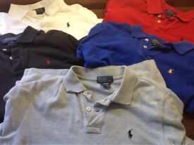 Bundle of teen/boys brand name clothing including Ralph Lauren