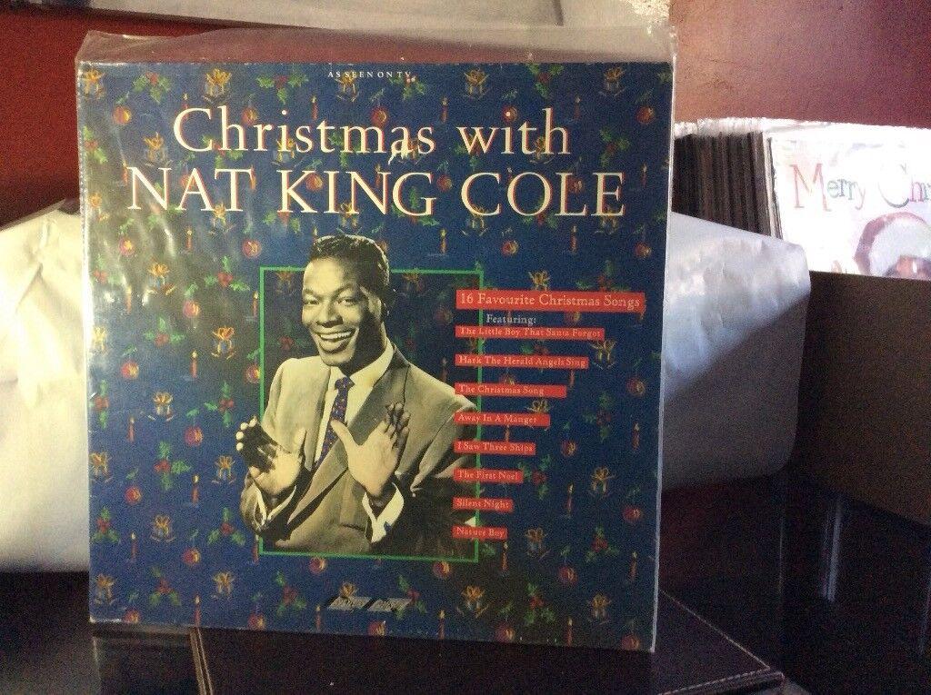 Nat King Cole Christmas Album.Christmas With Nat King Cole Vinyl Album In Bransholme East Yorkshire Gumtree