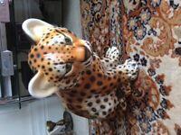 Ceramic leopard
