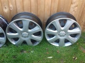 Mitsubishi Outlander 2016 Steel Wheels with trims