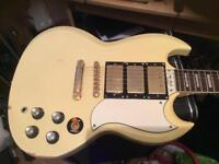 Epiphone custom sg guitar