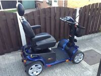 PRIDE COLT XL8 MPH HEAVY DUTY MOBILITY SCOOTER IMMACULATE CONDITION WITH SUSPENSION & USER MANUAL