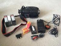 JVC VHS COMPACT CAMCORDER with ACCESSORIES