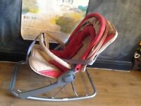Maclaren baby vibrating rocking chair