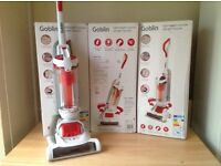 New lightweight compact cyclonic swivel bagless goblin upright vacuums