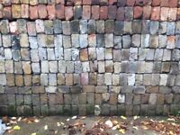 500 Old stock bricks, mixed colours, 65pence each. Smaller amounts can be purchased if required