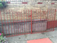 Wrought Iron gates for driveway