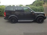 2006 Land Rover Discovery 3 2.7 SE black very low mileage