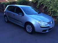 VW GOLF 1.4 S 2007 2 OWNERS RECENT MOT SERVICE AND TYRES FSH HPI CLEAR CHEAP