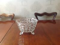 Antique Crystal Bowl