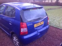 Spares or repair very clean buf accident damage and no mot