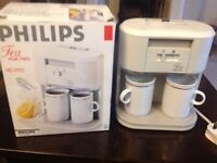 Retro Philips Tea for Two HD5192 Compact Teamaker