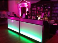 1.8m Stunning Mobile LED Bar - Collapsible