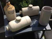 VINTAGE Antique STONEWARE BOTTLES