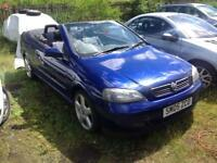ASTRA SOFTOP MOTD MAY 19. MINTED CAR. NEEDS REPAIR SWAP.. PROJECT.