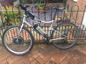 Electric bike ebike (homemade)