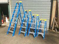 Step Ladders, Combination Ladders, Triple and Double Extension Ladders