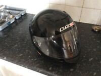 Ls2 crash helmet ( black)