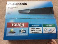 Panasonic DVD/CD player as new