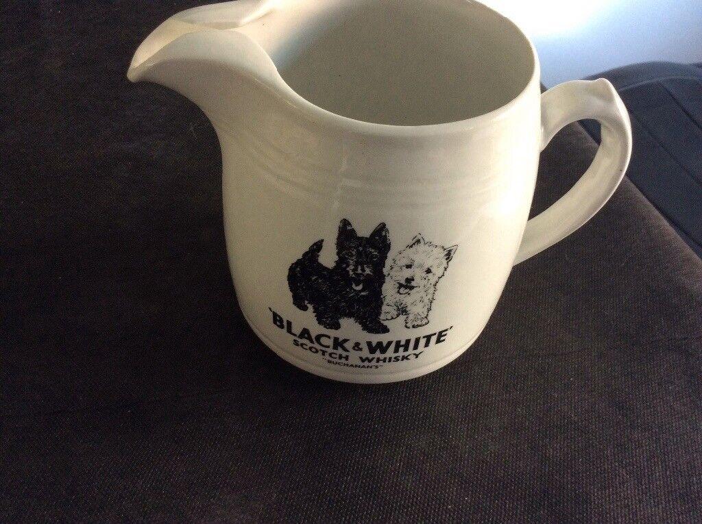 Black & White Whisky Jug