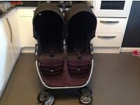 Britax b agile double buggy/pushchair/pram