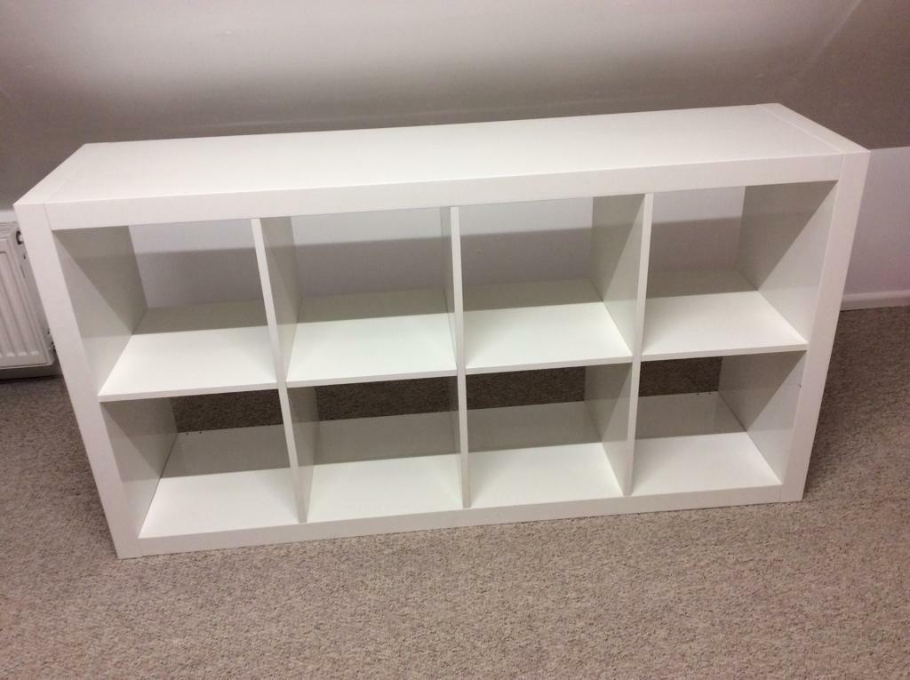 sneakers for cheap bf9a1 c431e IKEA white high gloss shelving unit good condition £75 new Collection only  | in Headley Park, Bristol | Gumtree