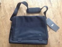 Brand New M & S Laptop Bag. Padded lining. Excellent quality.