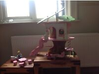 Toy Wooden Treehouse - £20