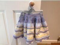Girls Monsoon skirt, 4/6 years.