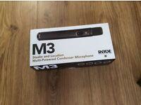 Microphone Rode M3- boxed- unused