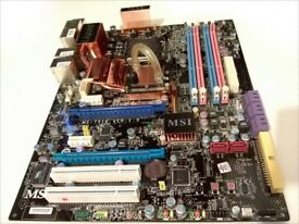 MSI P45 Diamond (MS-7516) ATX gaming motherboard (Socket LGA775, DDR3)