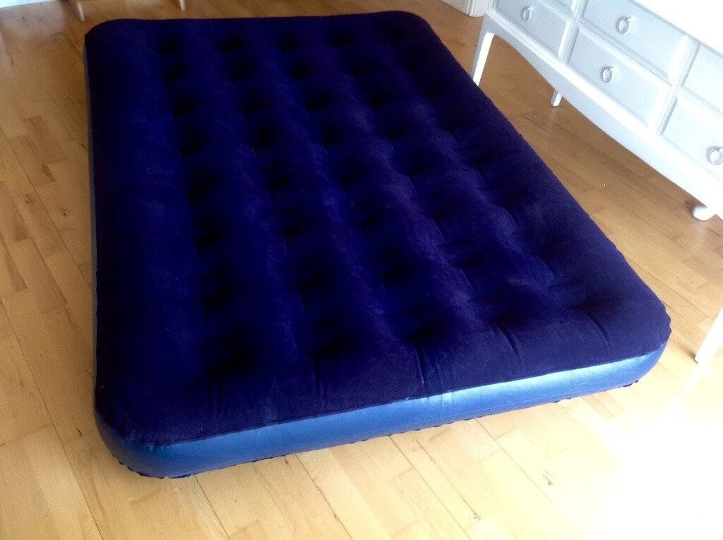 Flocked Double Air Bed Up Mattress Good Condition