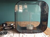 BiOrb Life 30l aquarium (black) . Used.