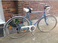 Vintage Mans German Gefag Town Bike 6 speed with lock