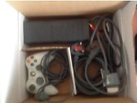White Xbox 360 and, games