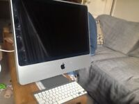 iMac 20 - inch widescreen computer.