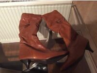 Ladies Tan Boots