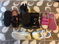 Girls shoe bundle size 6 and 6.5