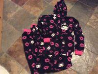 Ladies/girls Betty Boo Onesie size small