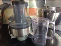 Juicer attachment for Kenwood Chef