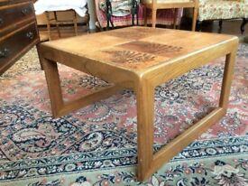 Coffee Table ceramic tile top