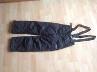 Girls' ski pants 8/9 yrs