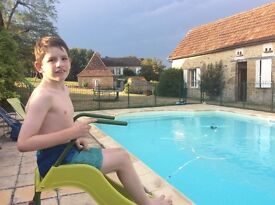 Summer special needs au pair in France for teen boy