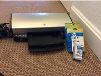HP desk jet 5490 printer with cartridges
