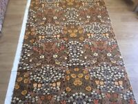 Sanderson Upholstery/Cushion Fabric. Cotton Blackthorn Design by Wm. Morris