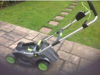 Battery lawnmower -GTech