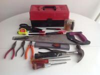 Selection Of tool and box