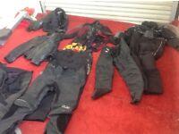 Men's/Ladies Motorbike Clothing.